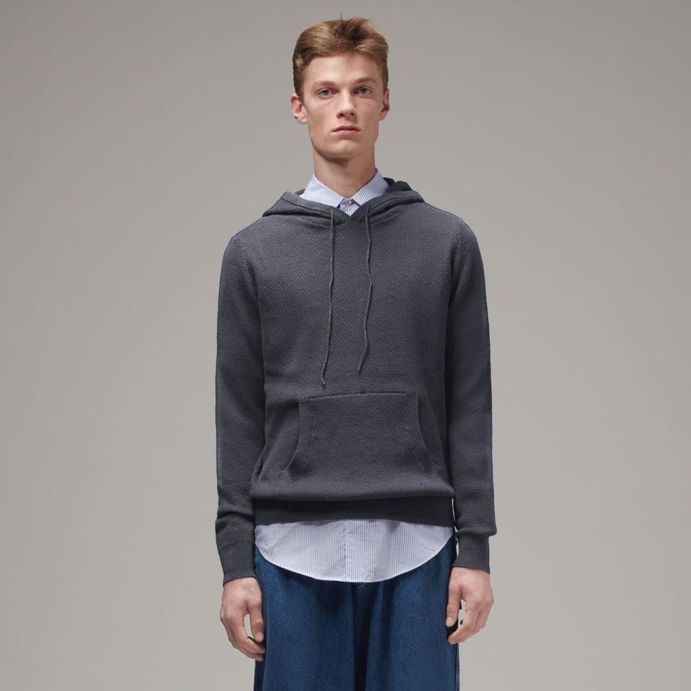 Men's Knit Hoodie (MYK-001)