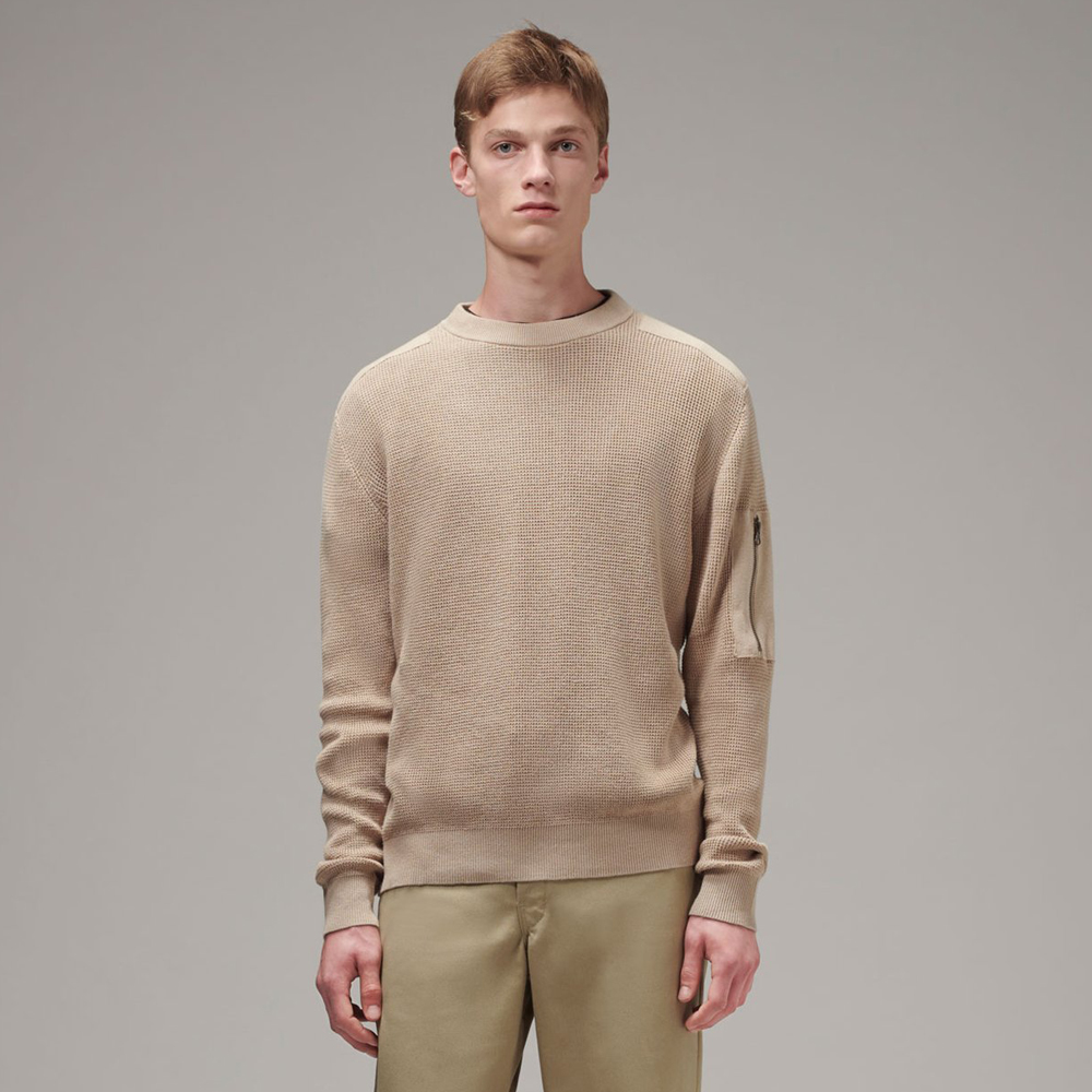 Men's Patch Sweater (MYK-007)