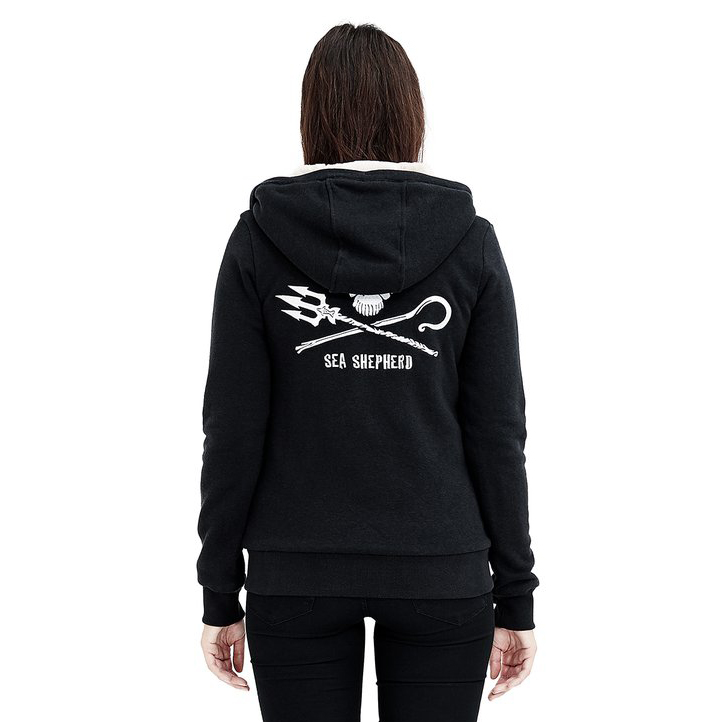Ladies' Sea Shepherd Furry Hoodie (LHT6-S)