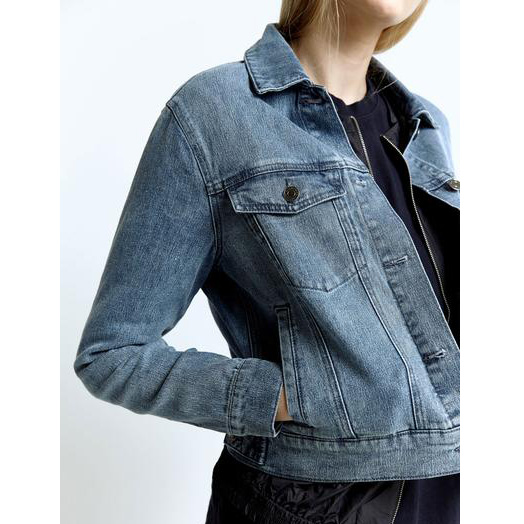*NEW* Ladies' Denim Jacket (LFJ-007)