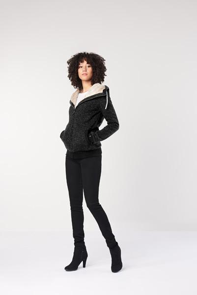 Ladies' Furry Hoodie (LHT6)