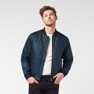 Men's Quilted Bomber (MQB)
