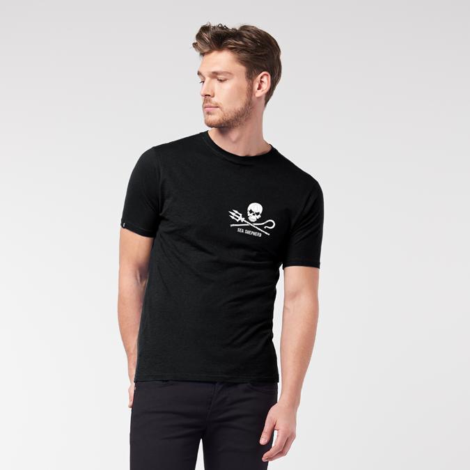 Men's Sea Shepherd Chest Logo Lightweight T-Shirt (MST3-SC)
