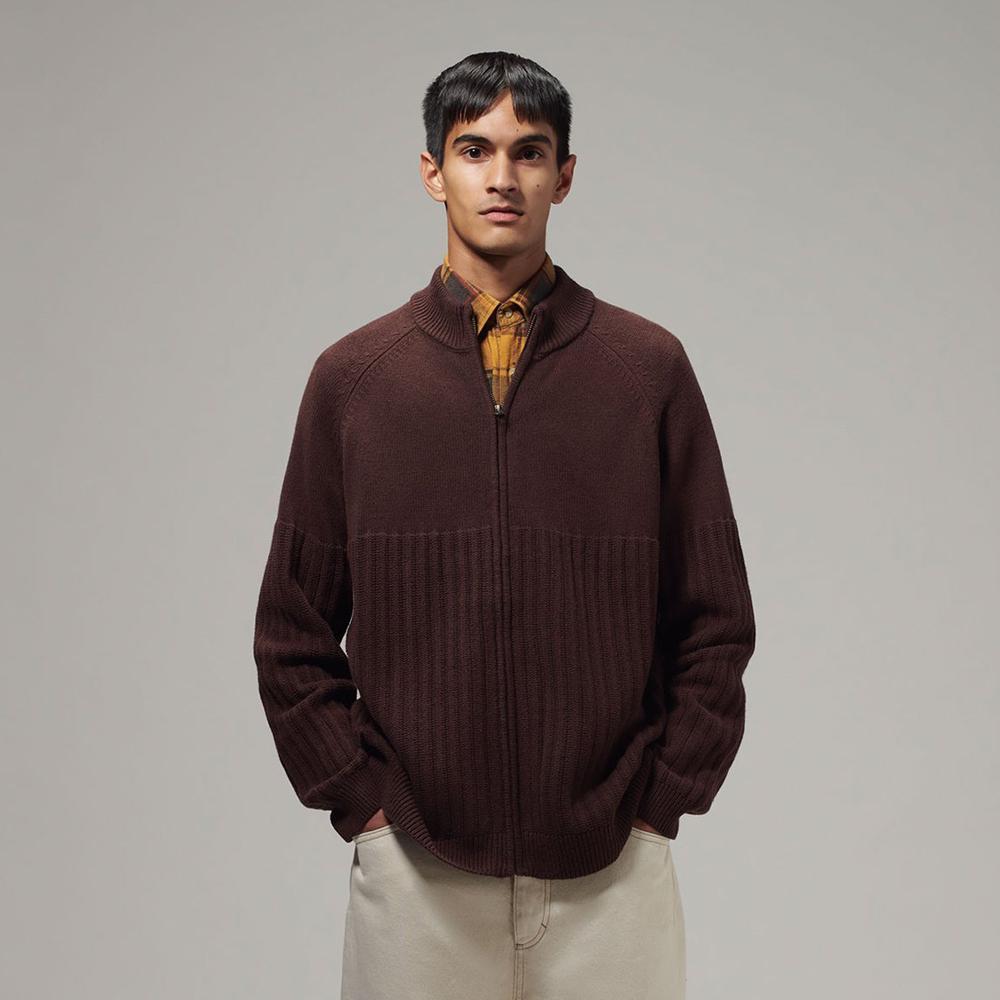 Men's Zip Up Sweater (MYK-004)