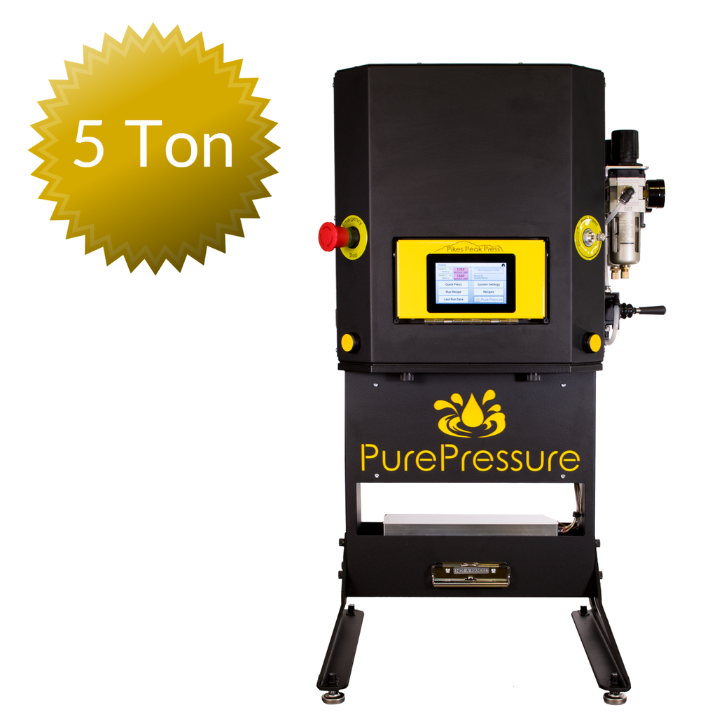 "Pikes Peak Rosin Press V2 (10"" x 3"" Plates, Dual Pressure, 5 Tons)"