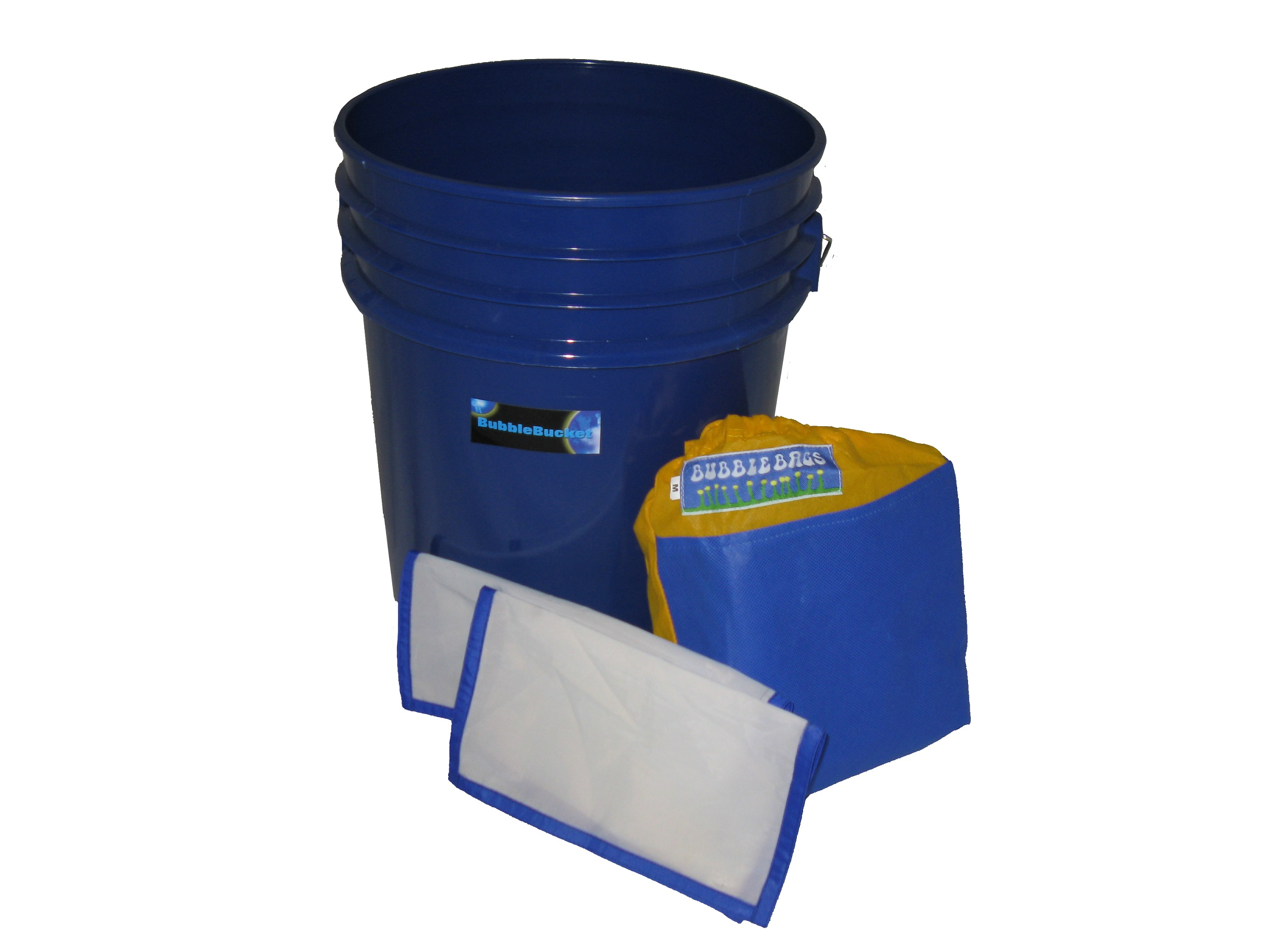 Standard 5 Gallon 4 Bubble Bag Kit With Bucket